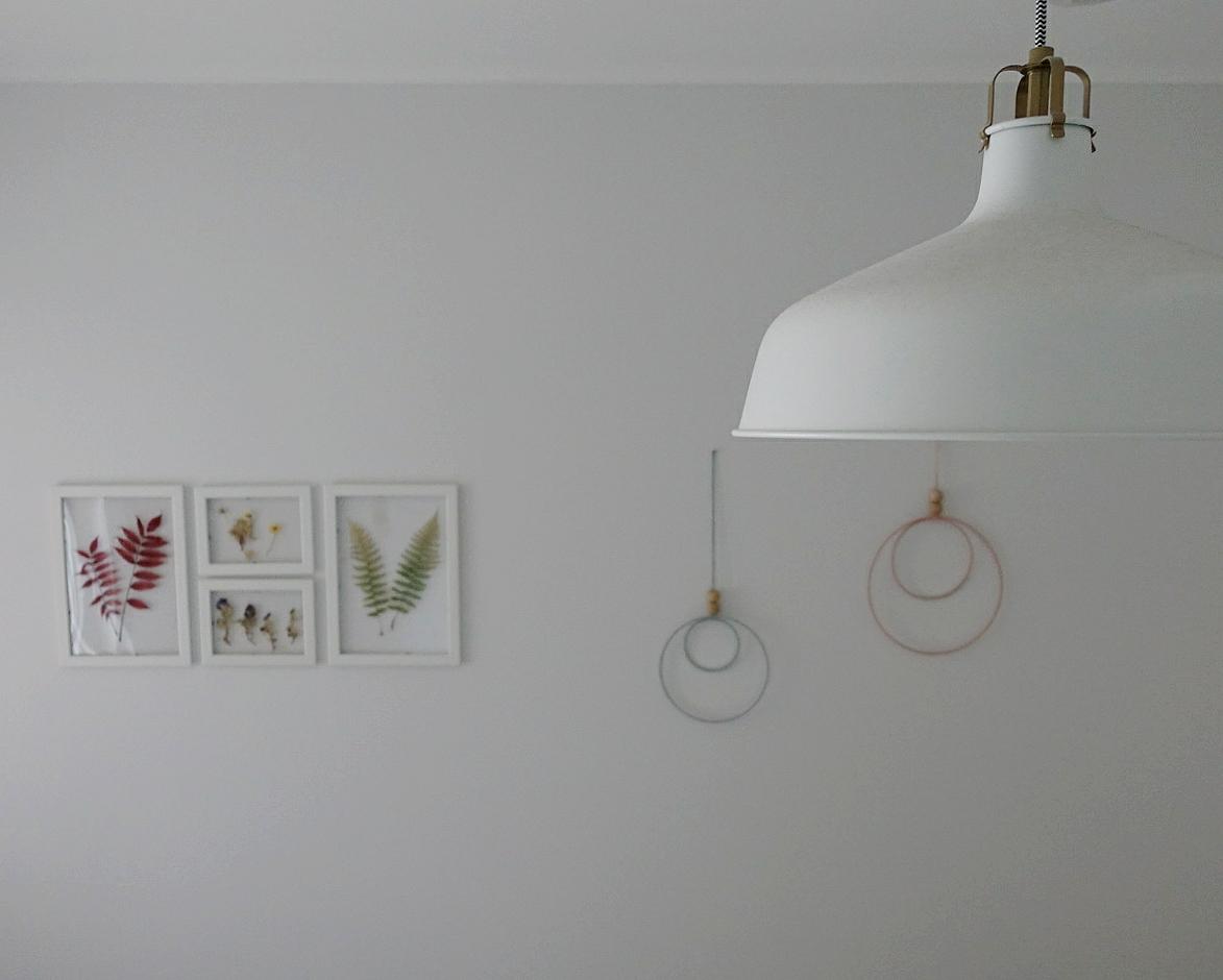 Wandbehang im Scandi Style
