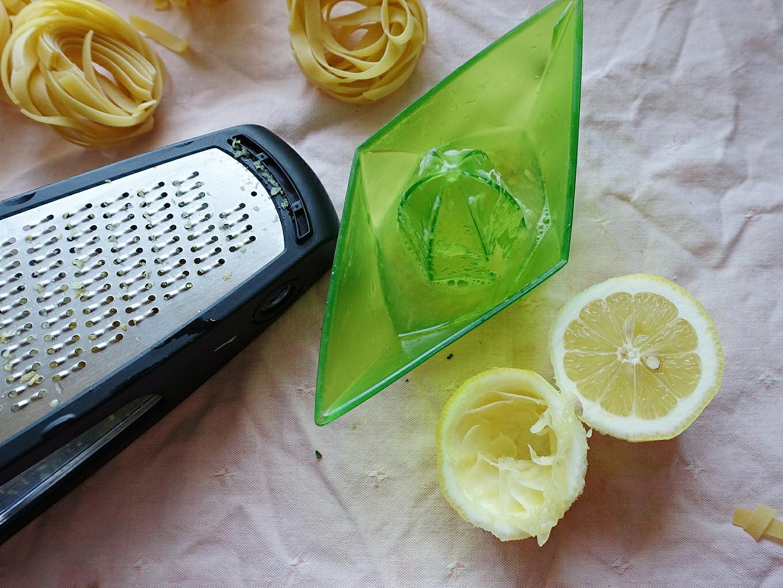 One Pot Zitronen Nudeln mit Spinat | Pasta al Limone  | judetta.de