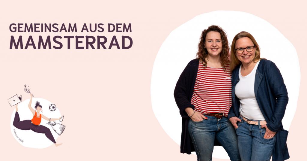 Gemeinsam aus dem Mamsterrad – Podcast und Academy für Eltern