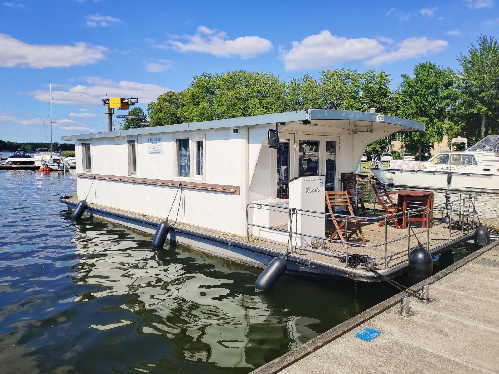 Familienfreundliches Hausboot Renate