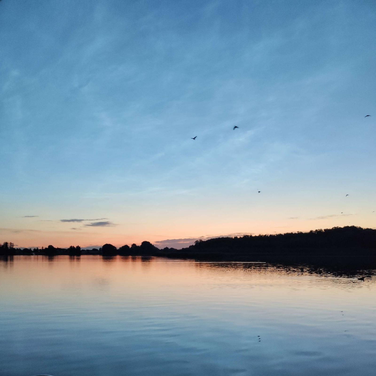 Den schönsten Sonnenuntergang von der Terrasse genießen