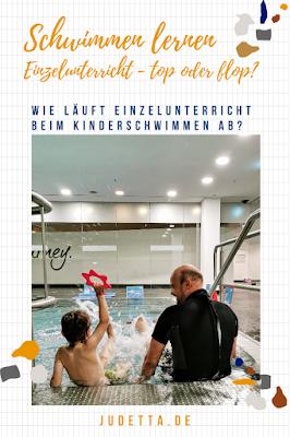 Schwimmen lernen im Einzelunterricht für Kinder