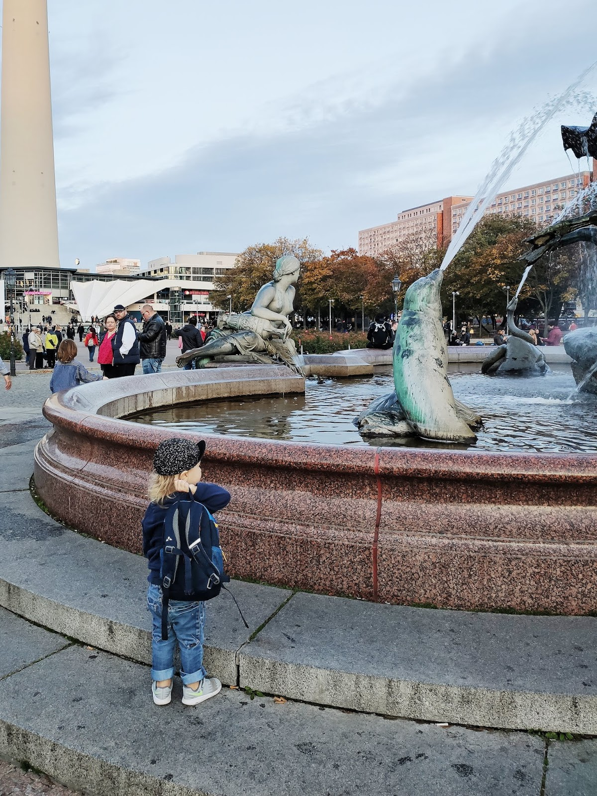 Am Neptunbrunnen Berlin
