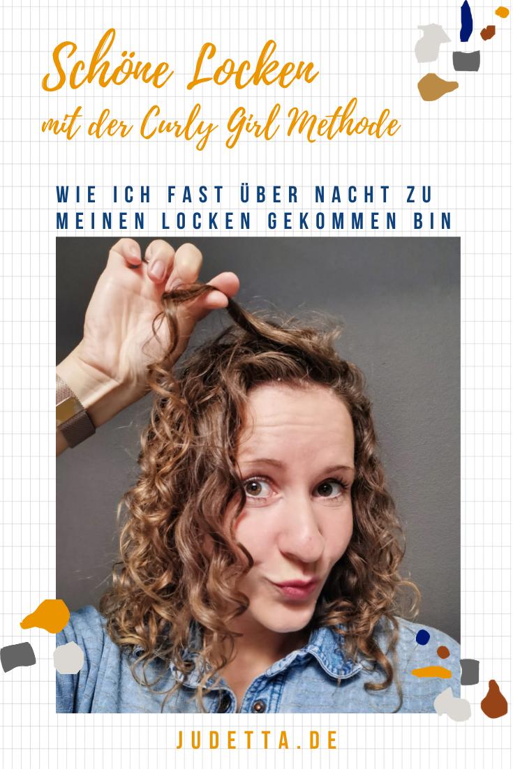 Wunderbare Locken mit CGM, der Curly Girl Methode // judetta.de