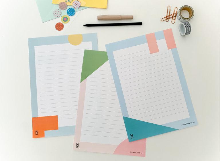 Schönes Broefpapier zum kostenlosen Download
